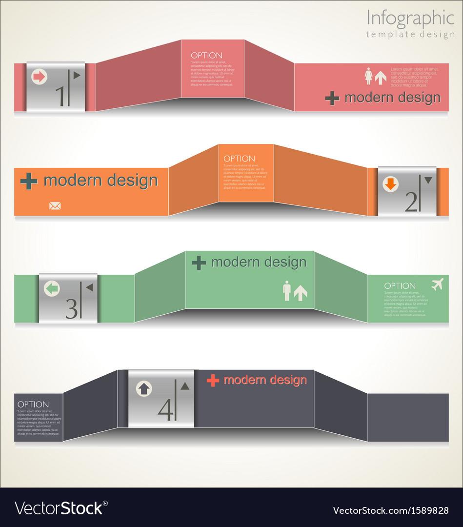 Modern design layout vector | Price: 1 Credit (USD $1)