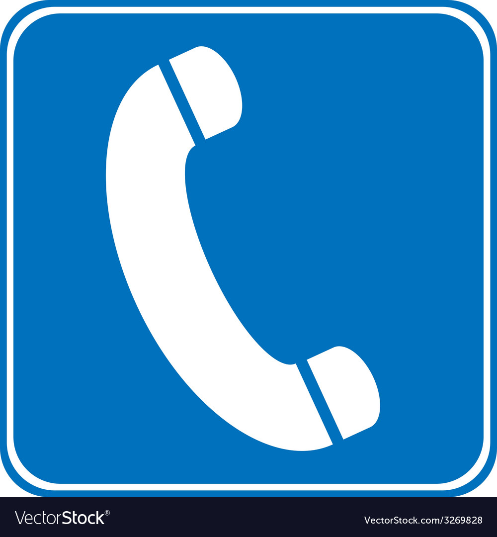 Phone allowing sign vector | Price: 1 Credit (USD $1)