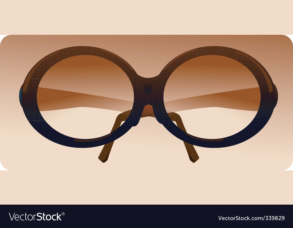 Fashion glasses vector | Price: 1 Credit (USD $1)
