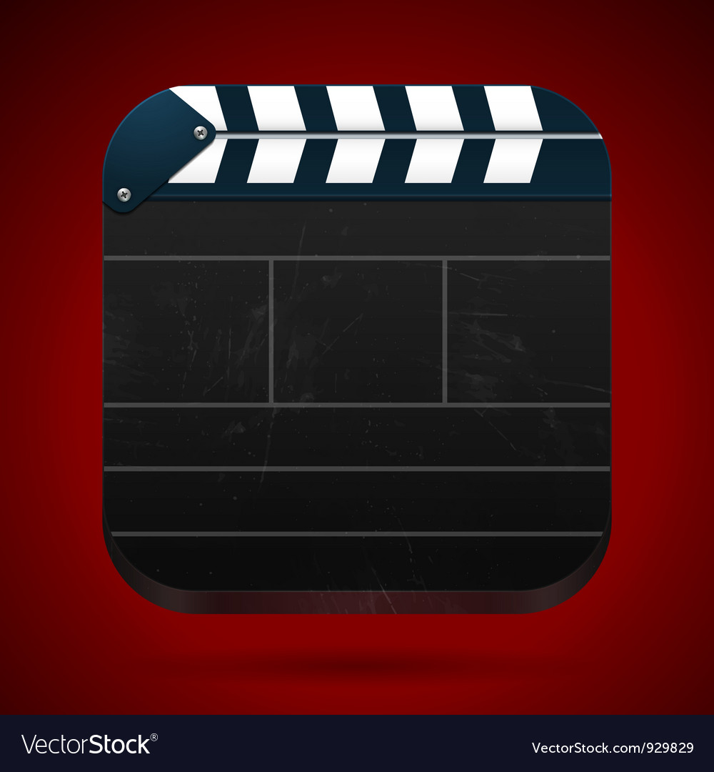 Film clap board cinema vector | Price: 1 Credit (USD $1)