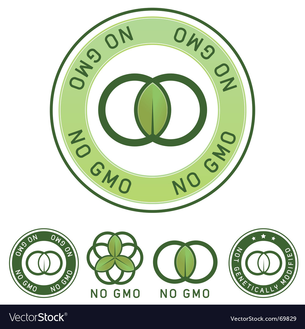No gm label vector | Price: 1 Credit (USD $1)