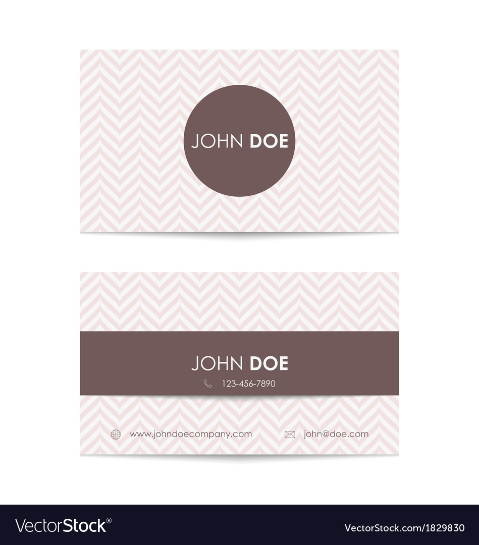 Business card template vector   Price: 1 Credit (USD $1)
