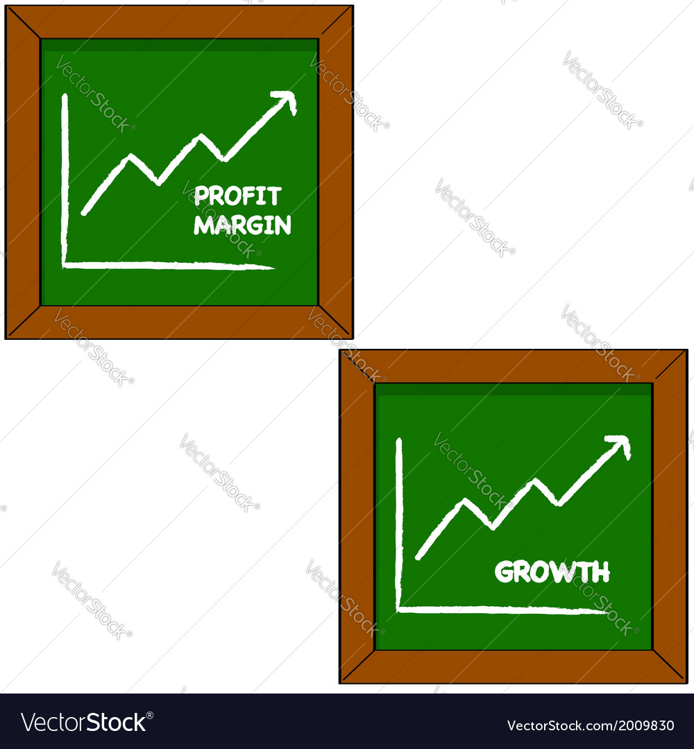 Profit and growth vector | Price: 1 Credit (USD $1)