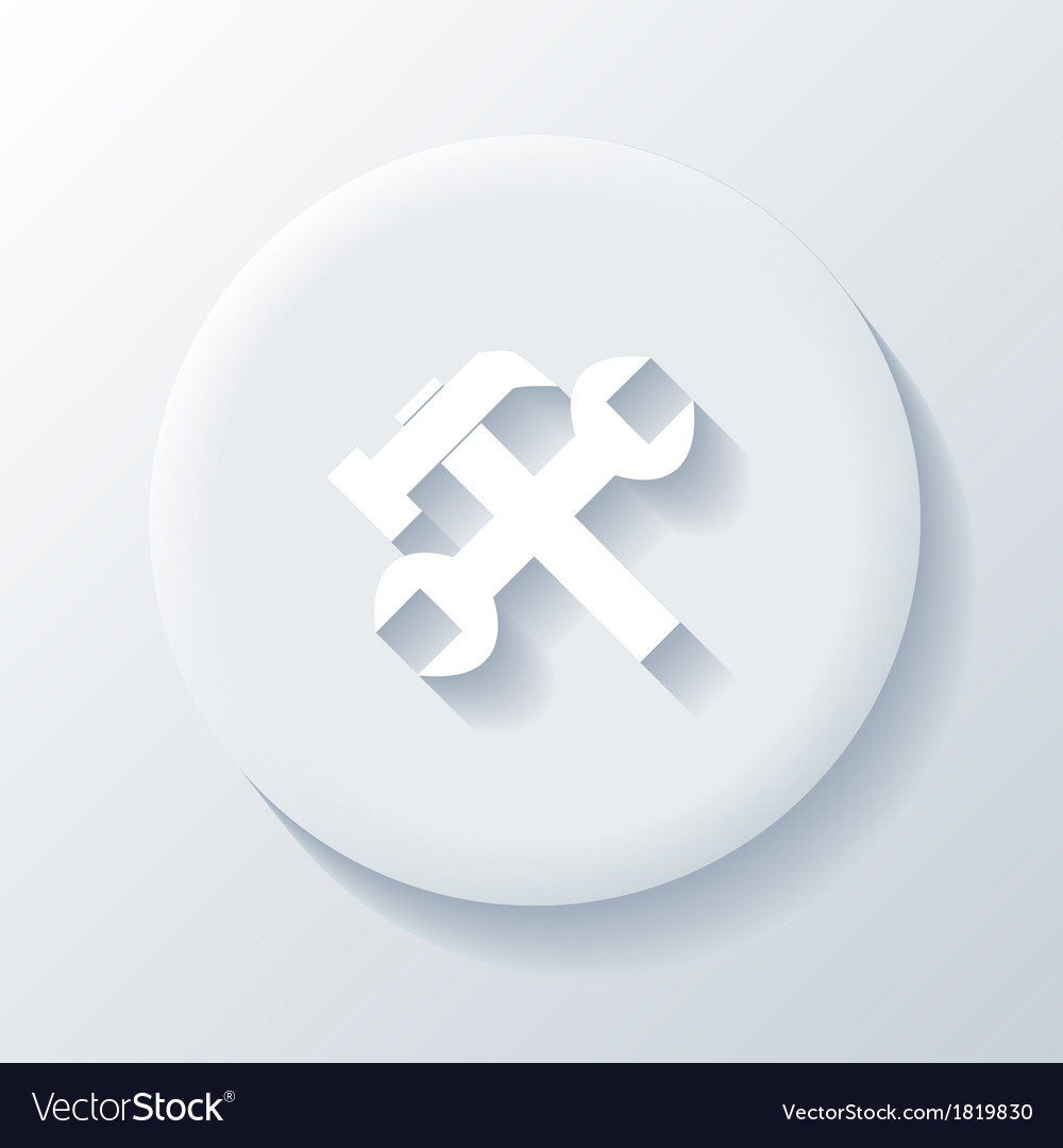 Repairs icon vector | Price: 1 Credit (USD $1)