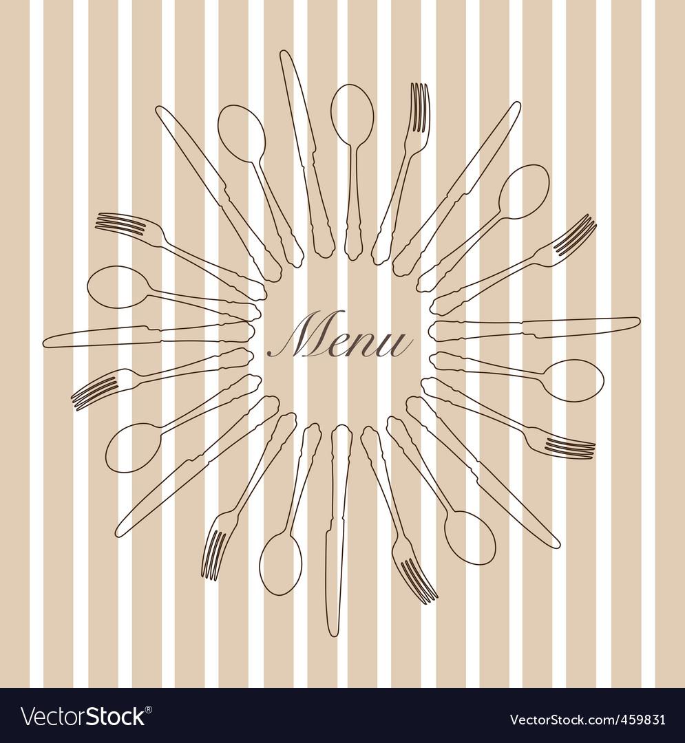 Menu cover vector | Price: 1 Credit (USD $1)