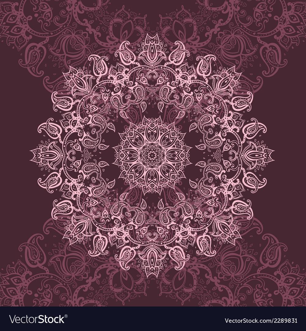 Pink mandala vector | Price: 1 Credit (USD $1)