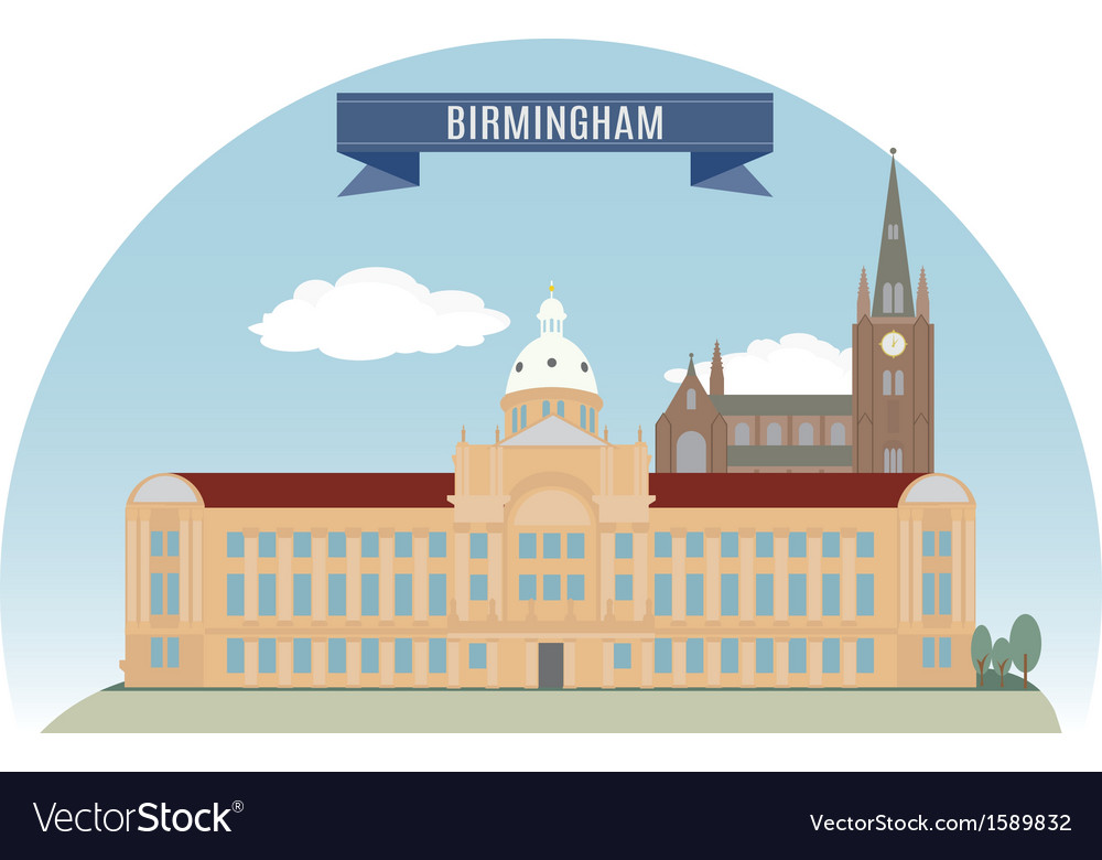 Birmingham vector | Price: 1 Credit (USD $1)
