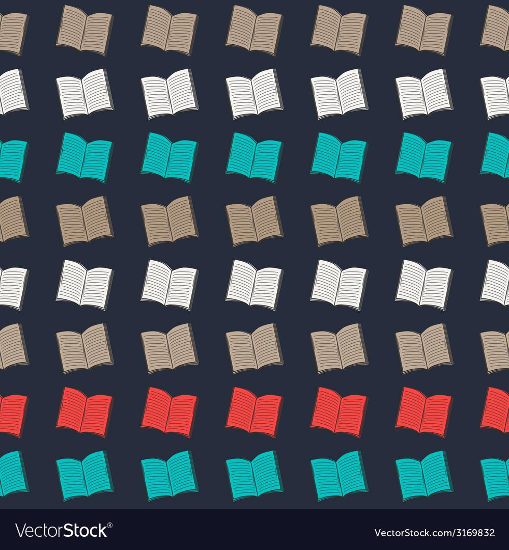 Book pattern vector | Price: 1 Credit (USD $1)