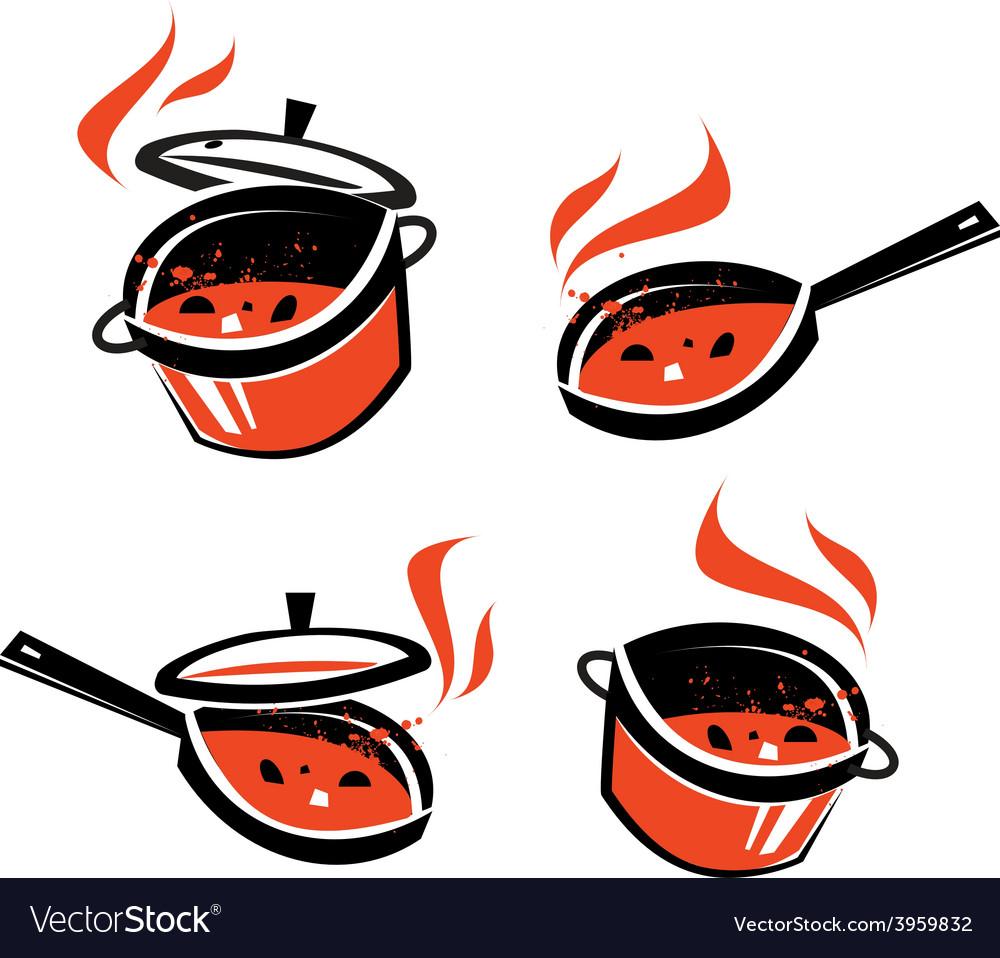 Kitchen utensils logo design template vector   Price: 1 Credit (USD $1)