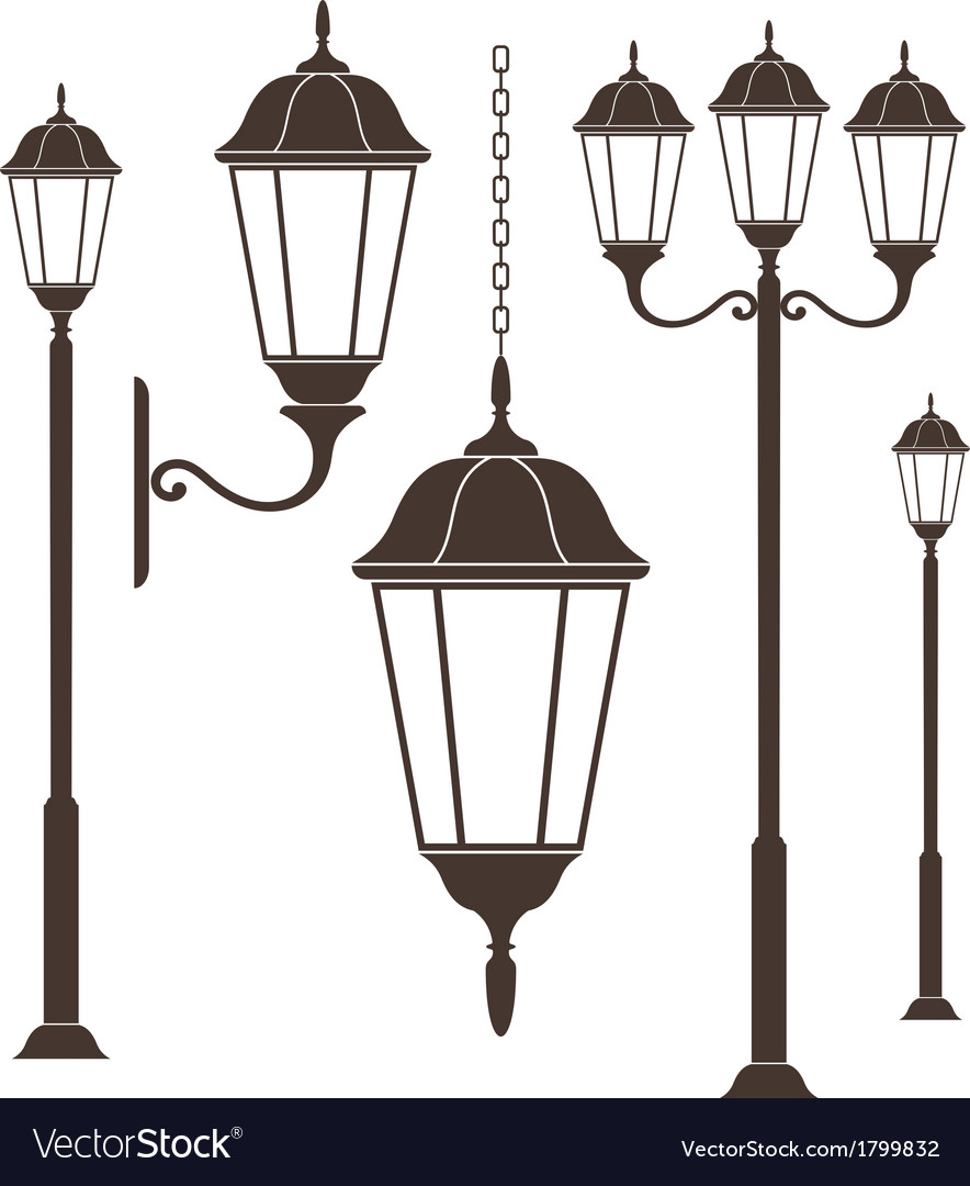 Street light vector | Price: 1 Credit (USD $1)
