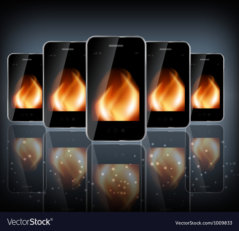 Abstract design phone for different business vector | Price: 3 Credit (USD $3)