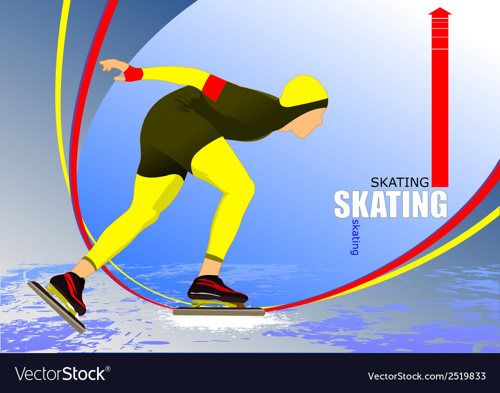 Al 0340 skating 08 vector | Price: 1 Credit (USD $1)