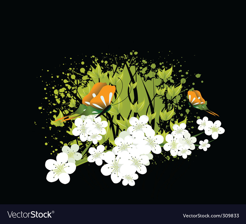 Blossoms vector   Price: 1 Credit (USD $1)