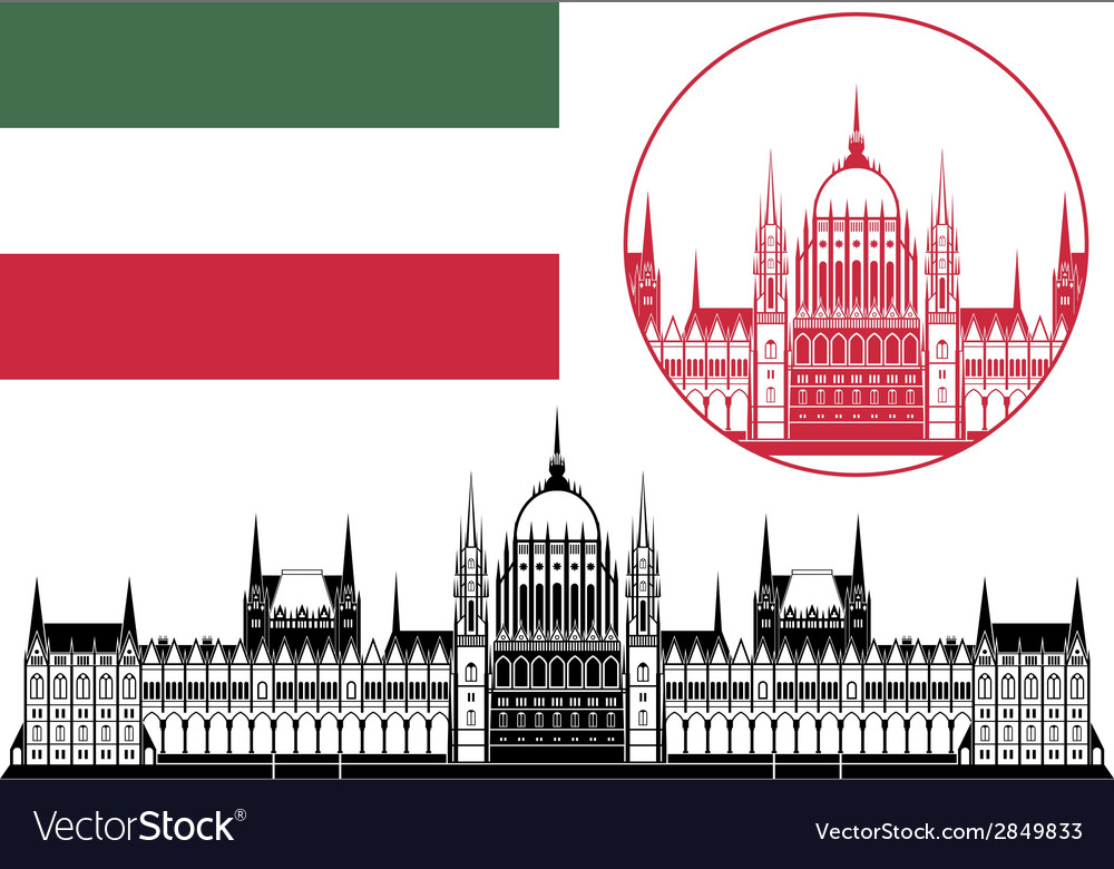 Hungary vector | Price: 1 Credit (USD $1)