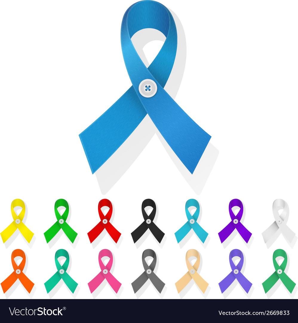 Ribbon awareness vector | Price: 1 Credit (USD $1)