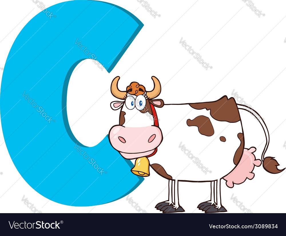 Cow cartoon vector   Price: 1 Credit (USD $1)