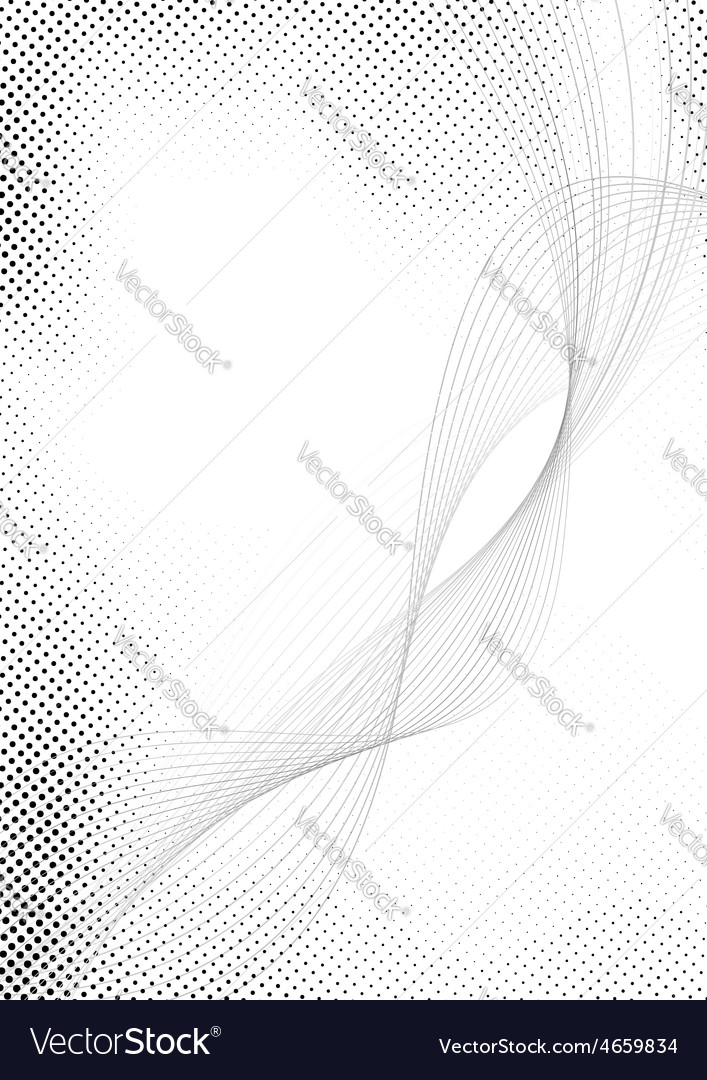 Modern halftone swoosh speed abstract lines vector | Price: 1 Credit (USD $1)