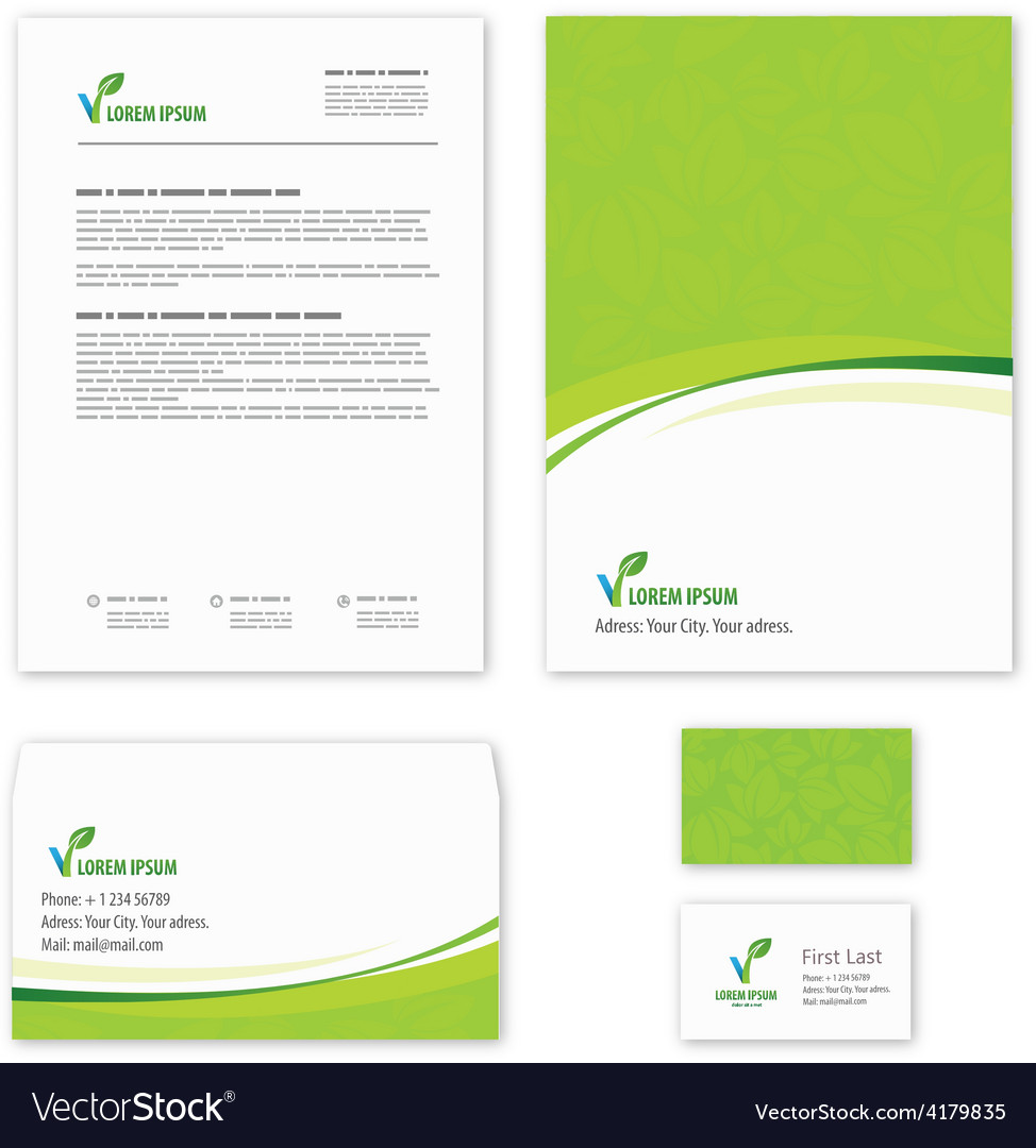 Eco green leaf logo template vector   Price: 1 Credit (USD $1)