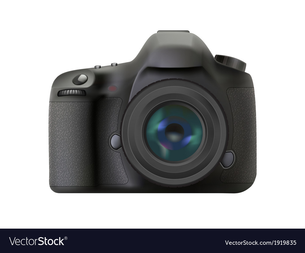 Front dslr vector | Price: 1 Credit (USD $1)