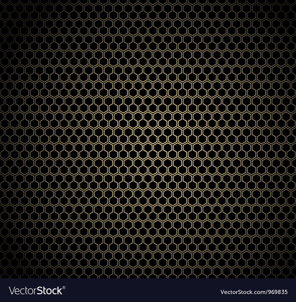 Gold honeycomb background vector | Price: 1 Credit (USD $1)