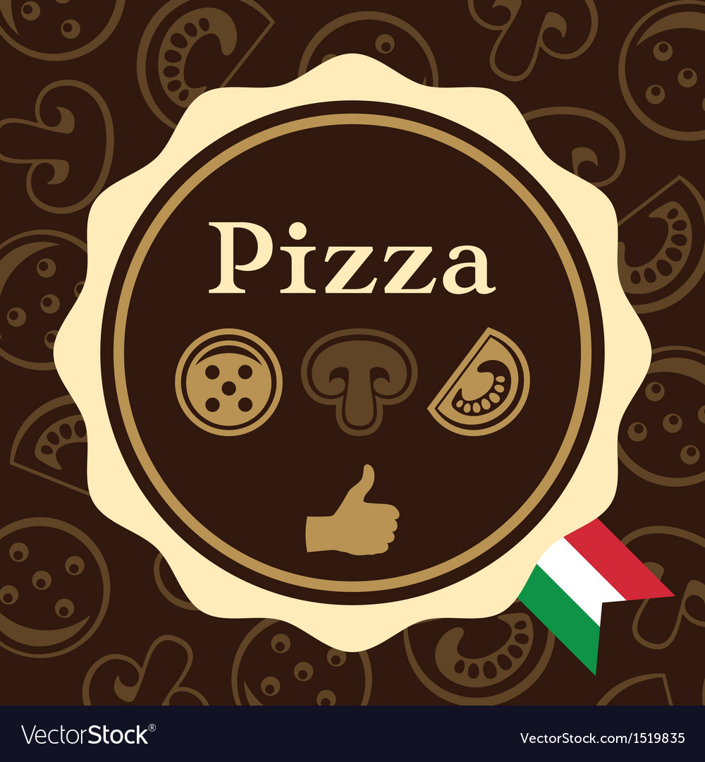 Pizza packaging design vector | Price: 1 Credit (USD $1)
