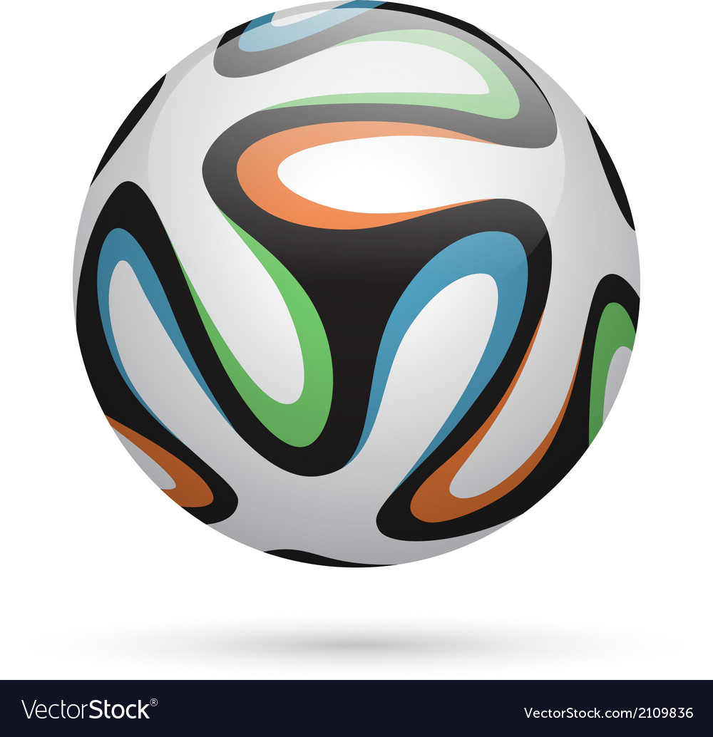 Football  soccer ball vector | Price: 1 Credit (USD $1)