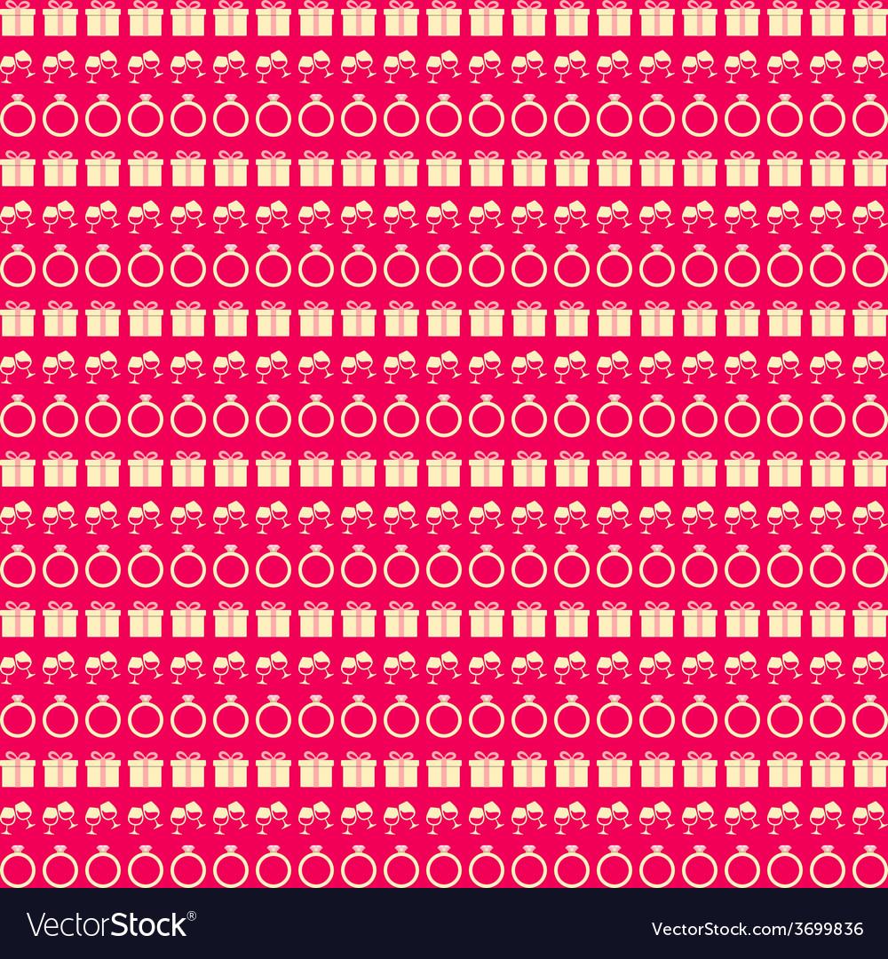 Love seamless pattern vector | Price: 1 Credit (USD $1)