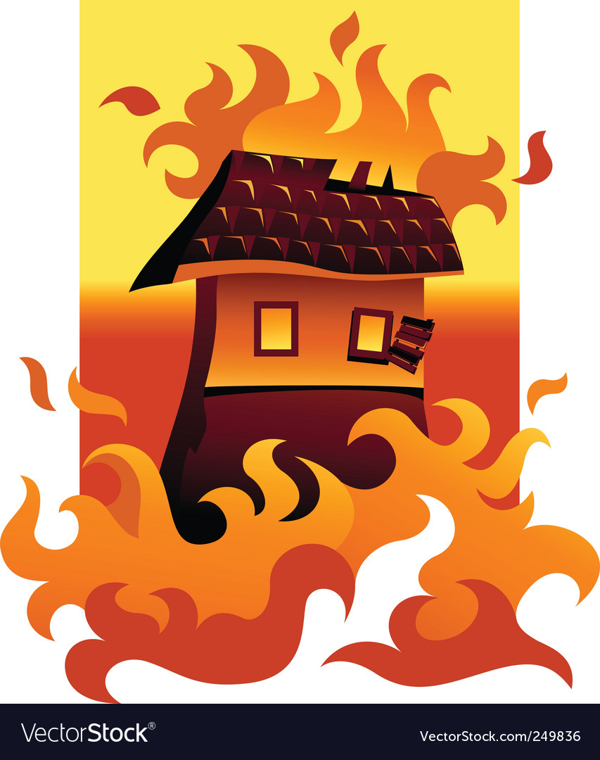 Wildfire vector | Price: 1 Credit (USD $1)