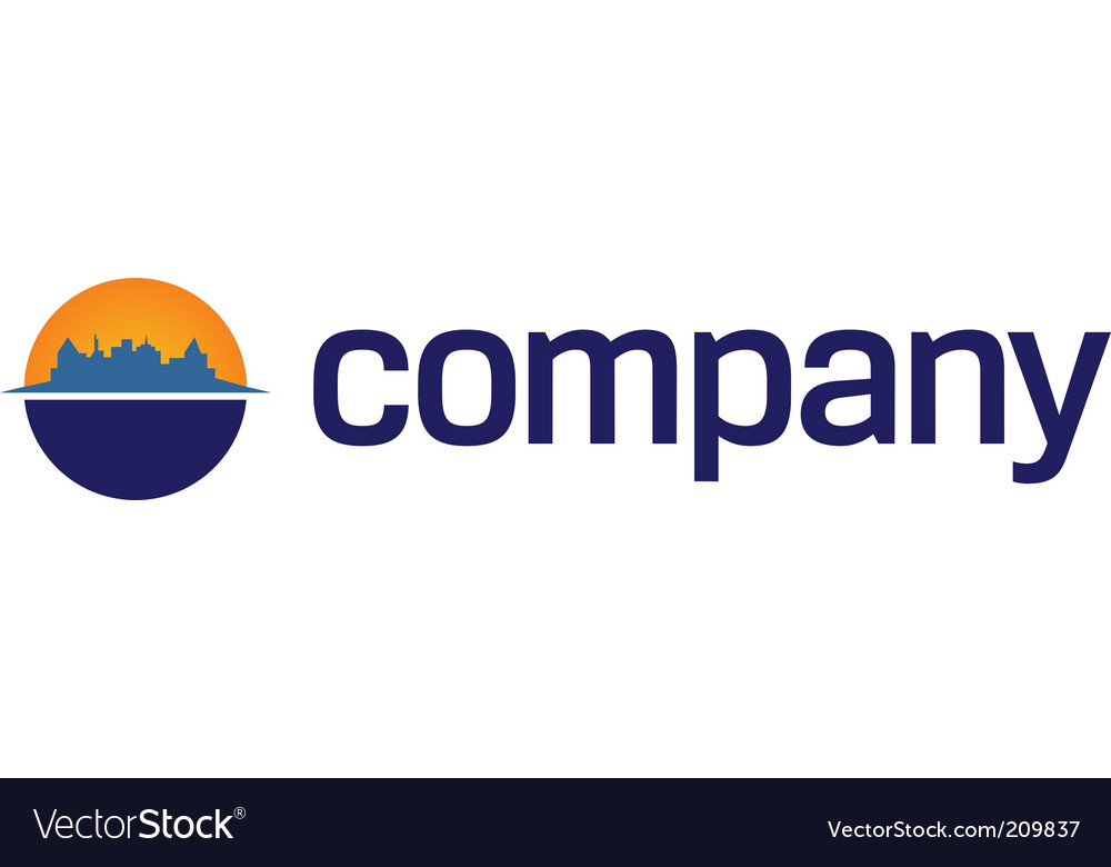 Business centre logo vector | Price: 1 Credit (USD $1)