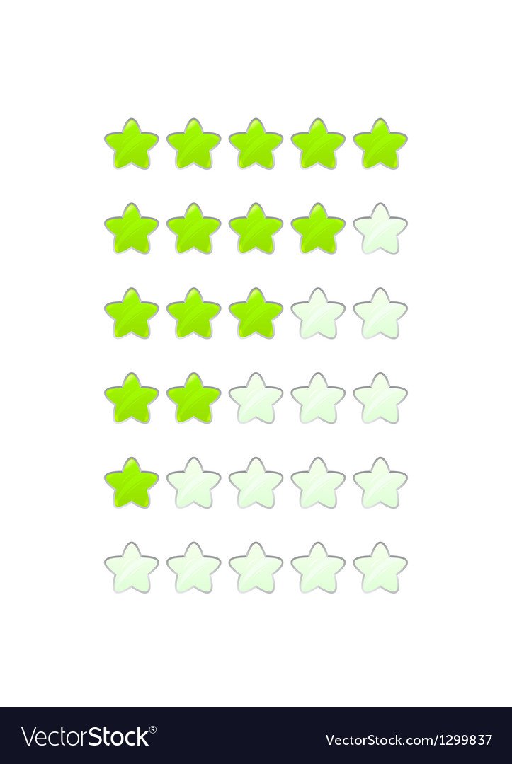 Loading bar from stars like a flower vector | Price: 1 Credit (USD $1)