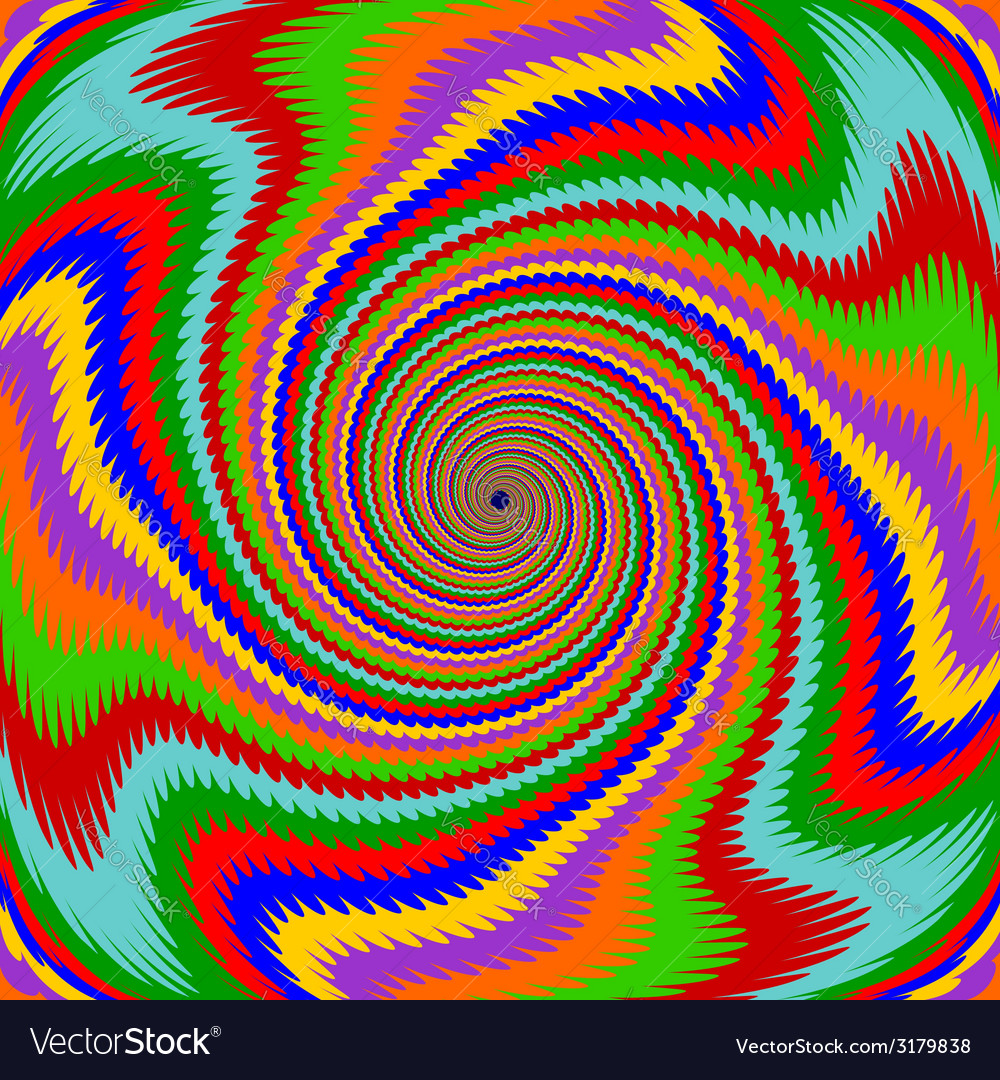 Design multicolor swirl rotation background vector | Price: 1 Credit (USD $1)