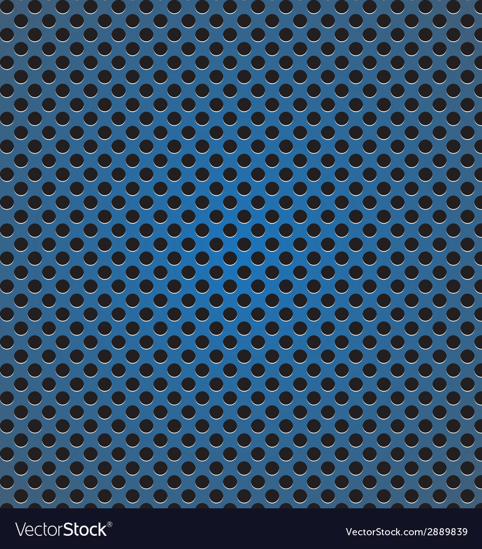 Blue circle perforated carbon speaker grill vector | Price: 1 Credit (USD $1)