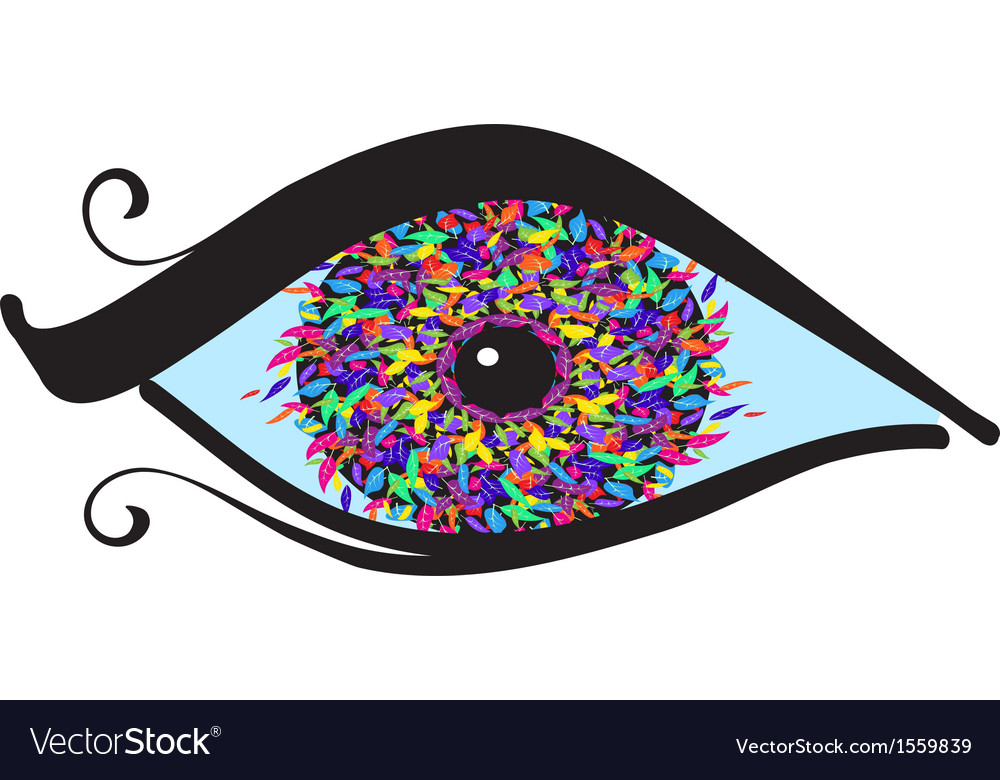 Eyes with colored iris vector | Price: 1 Credit (USD $1)