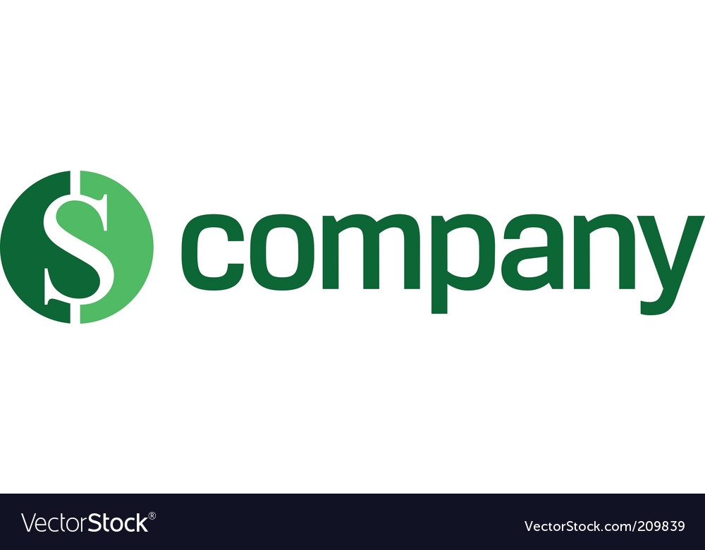 Logo for finance company vector | Price: 1 Credit (USD $1)
