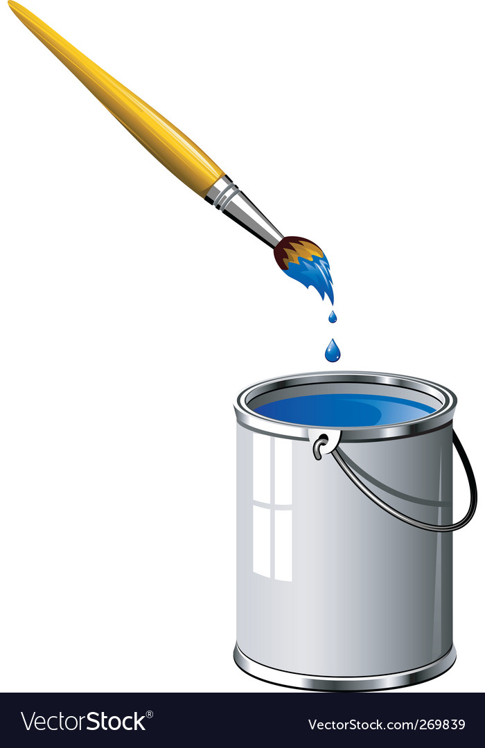 Paint brush vector | Price: 3 Credit (USD $3)