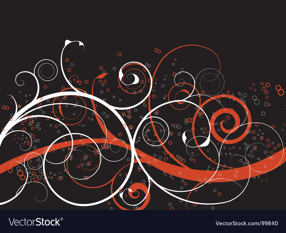 Abstract spirals background vector | Price: 1 Credit (USD $1)