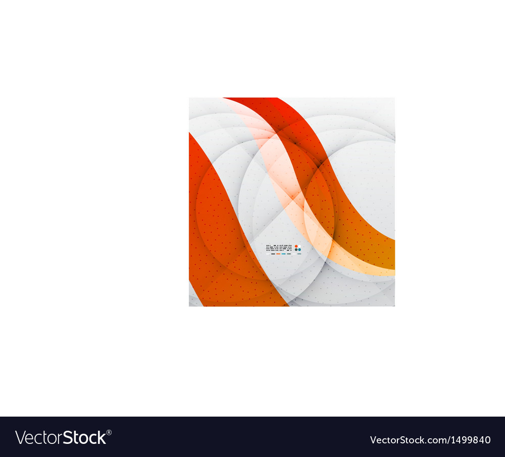 Orange soft wave abstraction vector | Price: 1 Credit (USD $1)