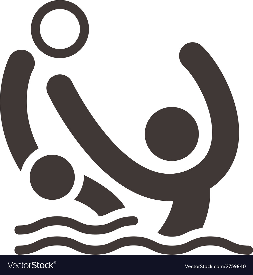Water polo icon vector | Price: 1 Credit (USD $1)