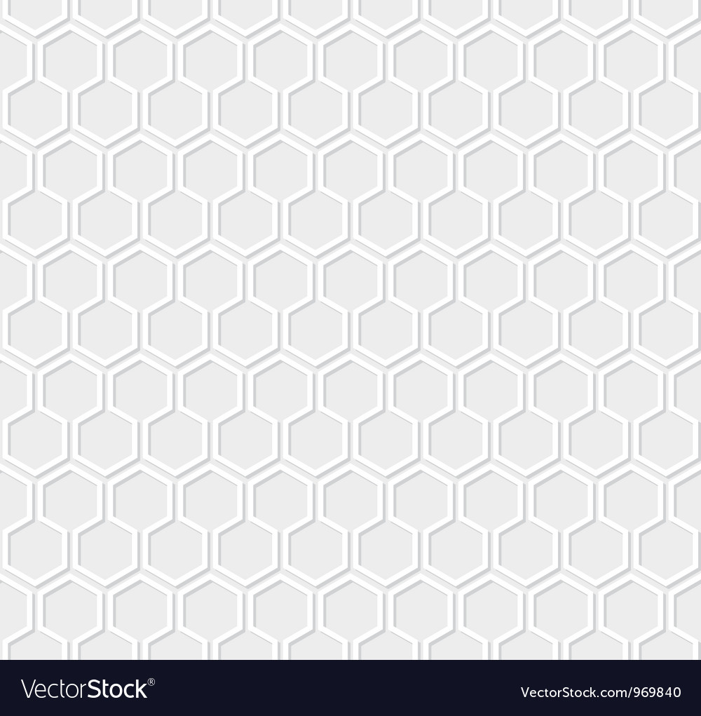 White honeycomb pattern vector | Price: 1 Credit (USD $1)