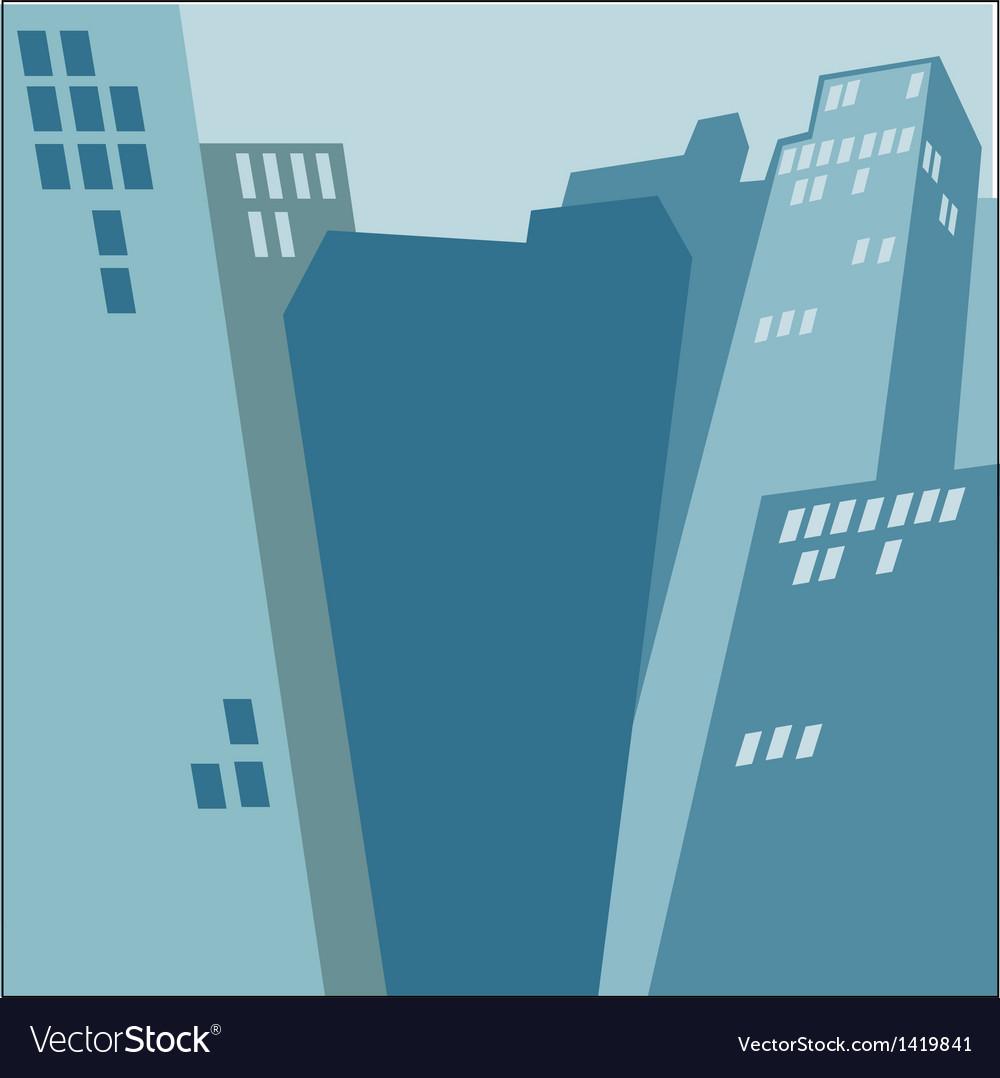 City skyscrapers vector | Price: 1 Credit (USD $1)