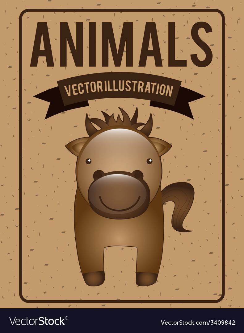 Animals design vector | Price: 1 Credit (USD $1)