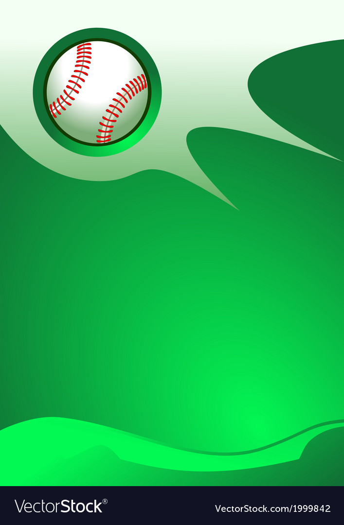 Baseball background vector | Price: 1 Credit (USD $1)