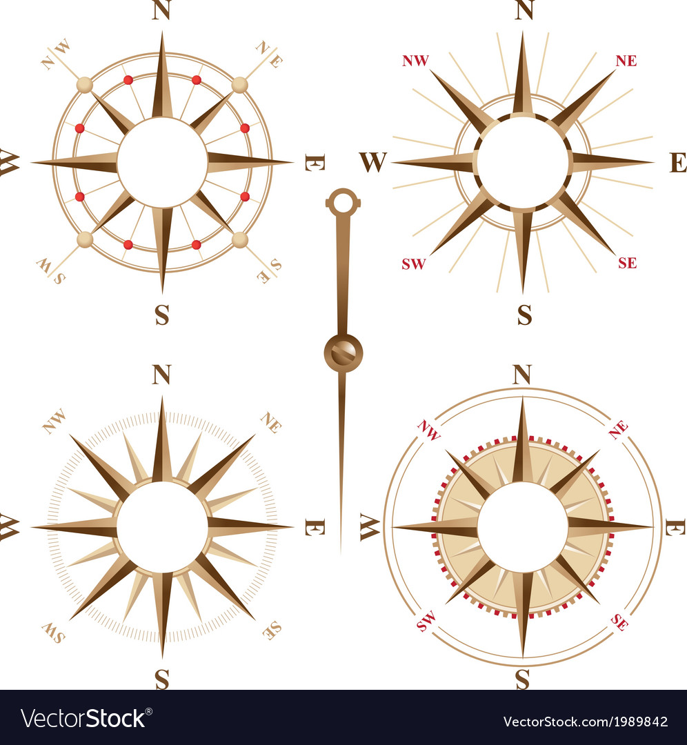 Compass frames vector | Price: 1 Credit (USD $1)