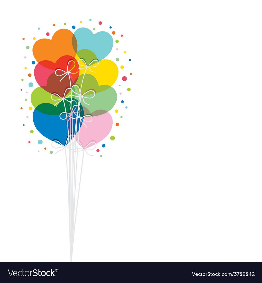 Happy valentine day greeting design vector | Price: 1 Credit (USD $1)