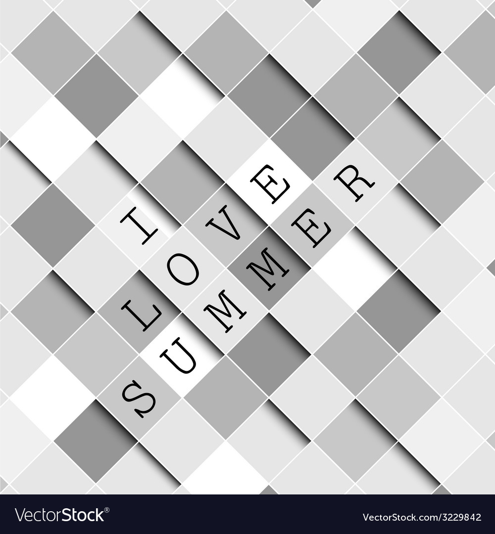 I love summer background vector | Price: 1 Credit (USD $1)