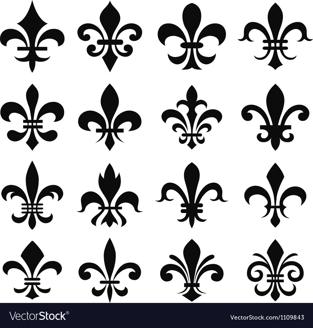 Fleur de lys design vector | Price: 1 Credit (USD $1)