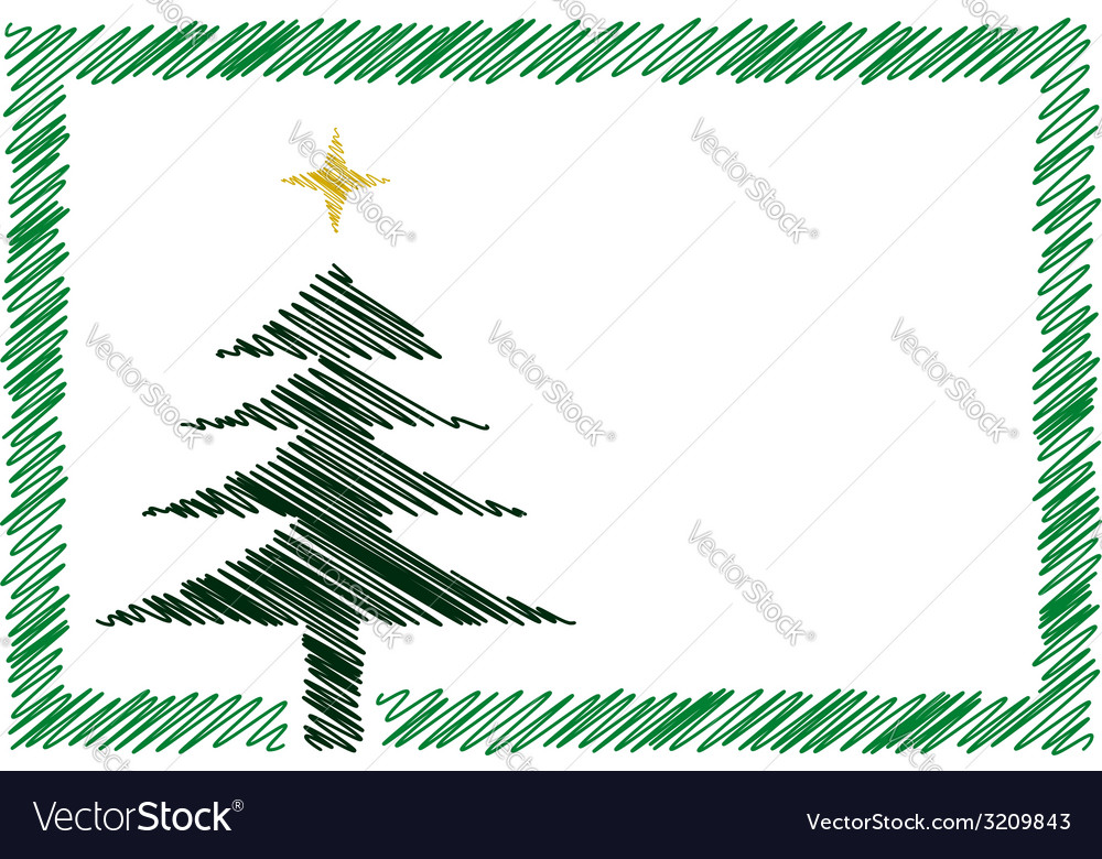 Shaded christmas card vector | Price: 1 Credit (USD $1)