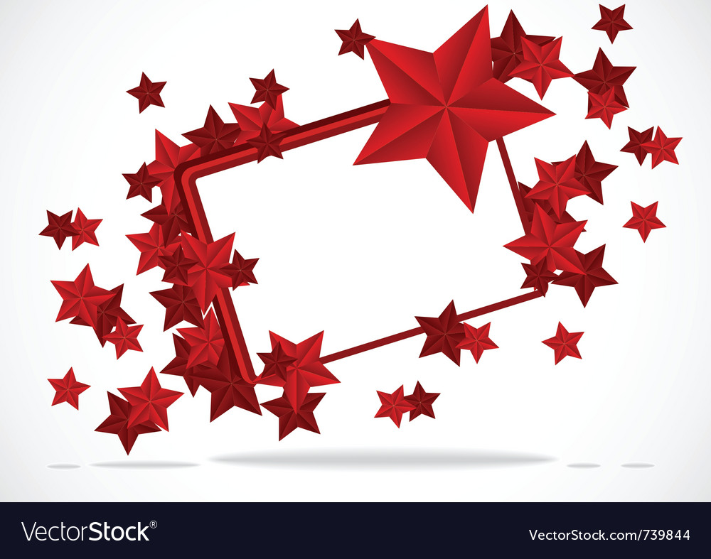 Background with stars vector | Price: 1 Credit (USD $1)