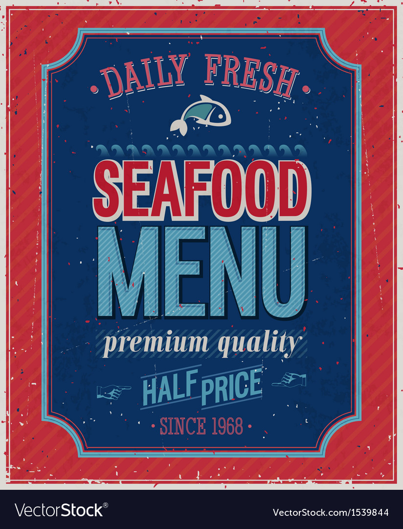 Seafood2 vector | Price: 1 Credit (USD $1)