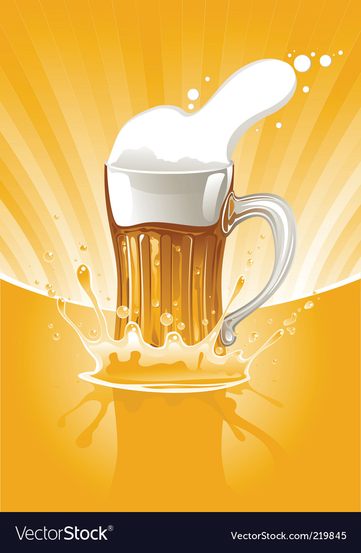 Mug of beer vector | Price: 1 Credit (USD $1)